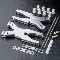 MST Aluminum Rear Lower Arm Silver For FXX-D FSX-D RMX-D RRX-D XXX-D #820118S