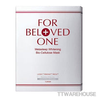 For Beloved One Melasleep Whitening Bio-Cellulose Mask 3 sheets(1box)