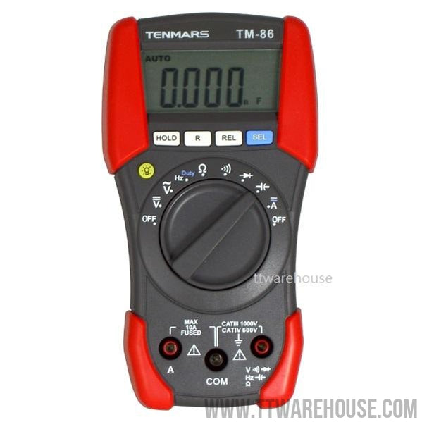 TENMARS TM-86 Digital Multimeter