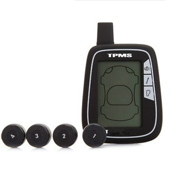 TYREDOG TPMS D1000A-X External Tyre Pressure Wireless Monitor System (4 Sensors)