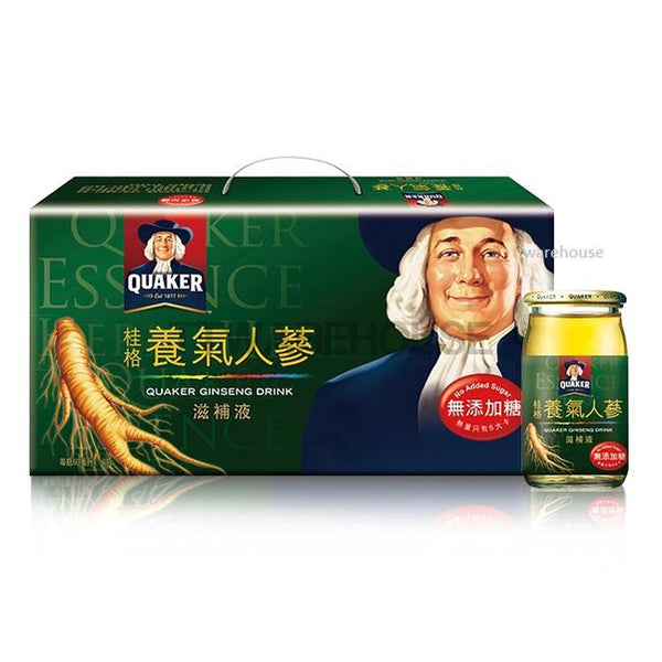 Quaker Ginseng Drink Energy (Sugar Free) 桂格 養氣人蔘 滋補液 (無糖) 60ml