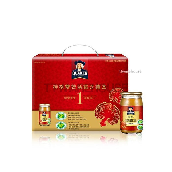 Quaker Ginseng Drink Energy Effective Ganoderma 桂格 雙效活靈芝滋補液 (60ml)