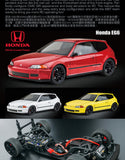 MST 531801R TCR-FF RTR HONDA EG6 RED 257mm 1/10 Touring w/ 2.4G