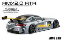 MST 533715 RMX 2.0 1/10 2WD Brushless RTR Drift Car w/AMG GT3 Body (Silver)