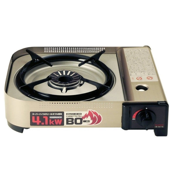 Iwatani CB-AH-41 Cassette Fu High Heat Force Camp Gas Cooking Stove