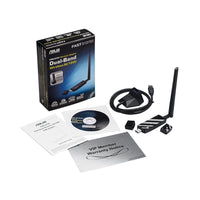 ASUS USB-AC56 Dual-Band Wireless-AC1300 802.11ac USB 3.0 Wi-Fi Adapter