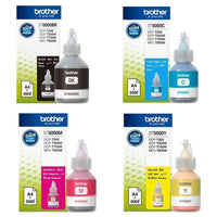 BROTHER BT5000C/Y/M+BT6000BK Full set Refill Ink for T300/T500W/T700WBT5000C