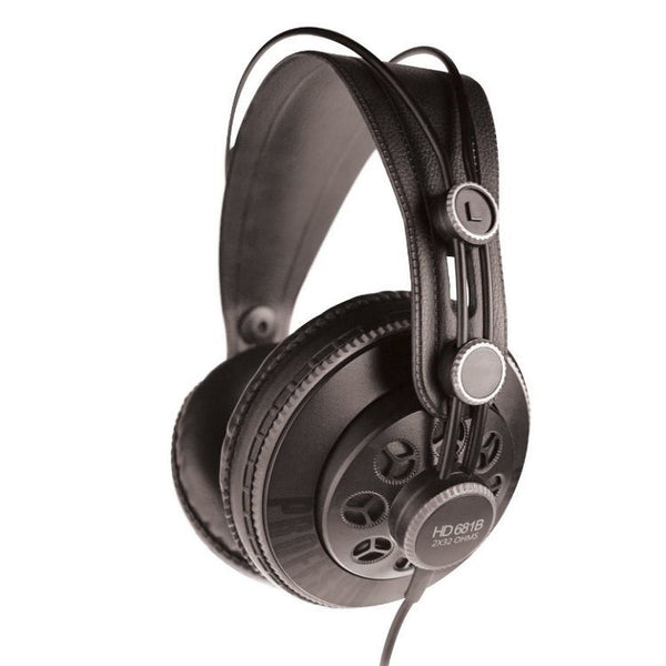 Superlux Genuine HD681B Professional Semi-Open Studio Headphones