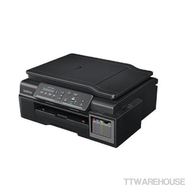 BROTHER DCP-T700W WiFi CISS Injet Printer w/ BK,C,M & Y Ink (100V~120V)