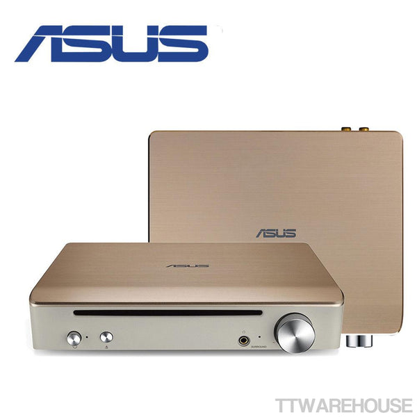 ASUS Impresario SBW-S1 Pro USB 7.1 Sound Card / DAC with Blu-Ray Writer