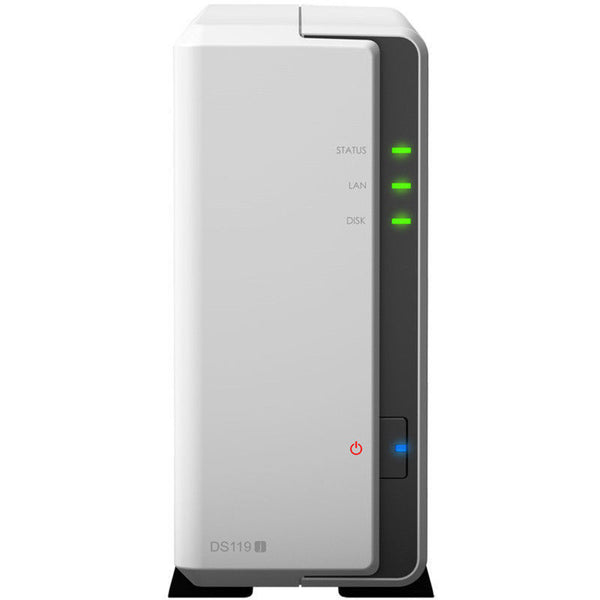 SYNOLOGY DS119j (Diskless) 1-Bay NAS Server Desktop Series Drives