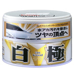 SOFT99 Kiwami Extreme Gloss White Color Carnauba Paste Fusso 200g