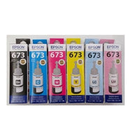 EPSON Genuine Refill Ink T6731/T6732/T6733/T6734/T6735/T6736 for L800 / L805 /1800