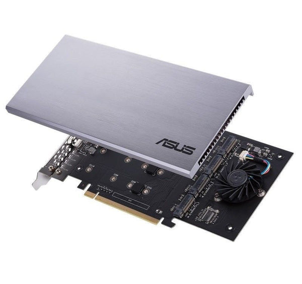 ASUS HYPER M.2 x16 Card Expansion PCIe 3.0 Intel VROC Support 4 NVMe SSD