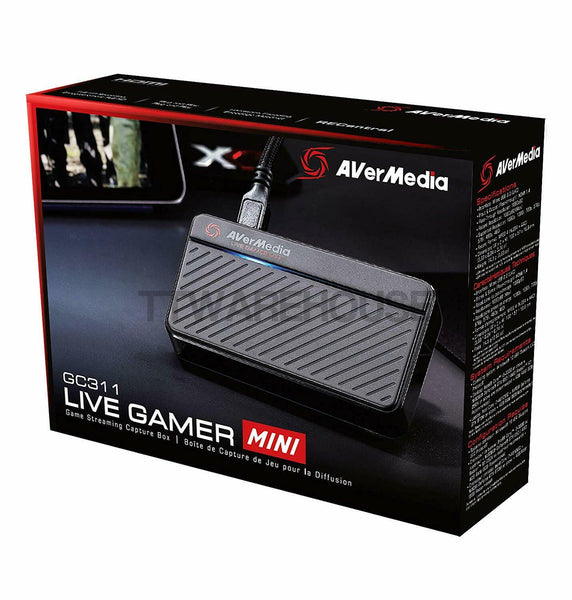 AVerMedia GC311 Live Gamer MINI (LGM) Full HD 1080P Video Recording Game Capture