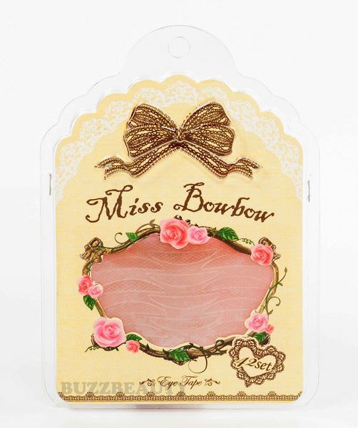 MISS BOWBOWMesh Type Moon Shade Double Eyelid Tape 42 Sets (Mild Type Glue)