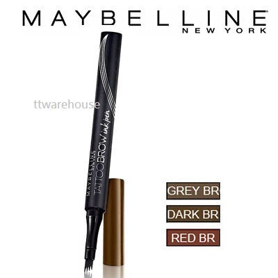 MAYBELLINE NEW YORK Tattoo Brow Ink Pen Eyebrow Tattoo Liner 0.5ml NEW