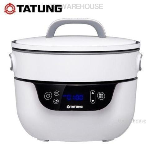 TATUNG TSB-3016EA Waterless Pot Fusion Rice Cooker Grill Pan (110V)