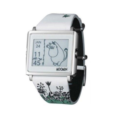Epson Smart Canvas matrix EPD Digital Watch Moomin