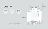 Cubiio (Suite) Automatic Small Household DIY Mini Laser Engraving Machine