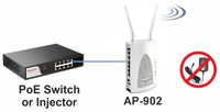 DRAYTEK VigorAP 902 Dual-Band 802.11ac Wireless Access Point AP (AP-902)