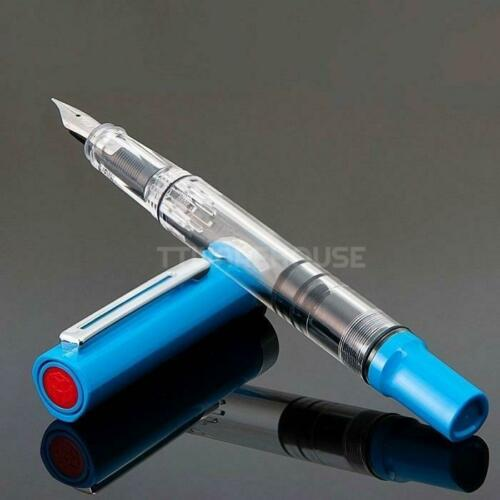 TWSBI ECO-T Special Edition Demonstrator Piston Fountain Pen (Blue)