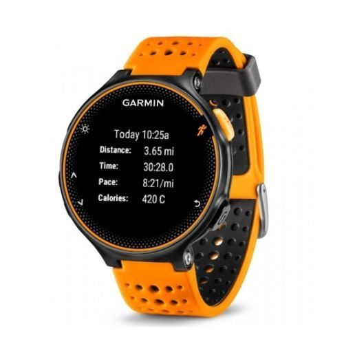 GARMIN Forerunner 235 Running GPS HRM Sensor Watch (ORANGE)