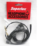 Superlux Genuine FD3YW/S extension coiled headphones cable For HD681 EVO HD668B