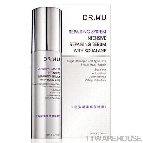DR. WU Intensive Repairing Serum With Squalane Anti Aging Replenish (35ml)