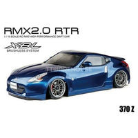 MST 533711 RMX 2.0 Nismo 370Z Pre-Painted Body Brushless 1/10 RWD RTR Drift Car w/ 2.4GHz Radio (Blue)