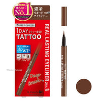 K-Palette Japan 1 Day Tattoo Real Lasting Liquid Eyeliner 24h Black/Brown