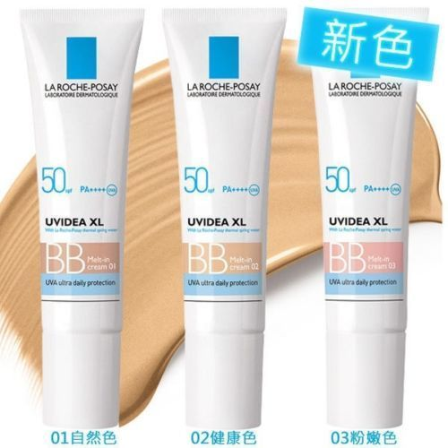LA ROCHE-POSAY Uvidea XL Melt-In BB Cream #01 #02 #03 UV Ultra Protection SPF 50