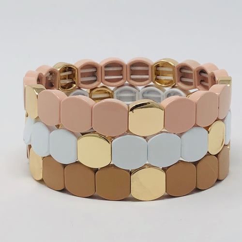 Neutral Tone Octagon Stack