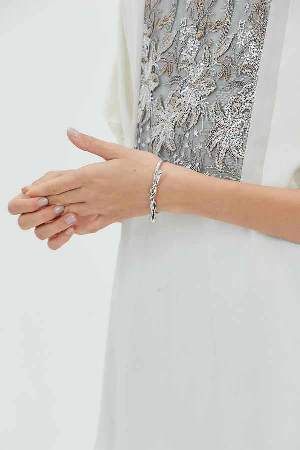 MURRAL Ivy bangle (Silver)