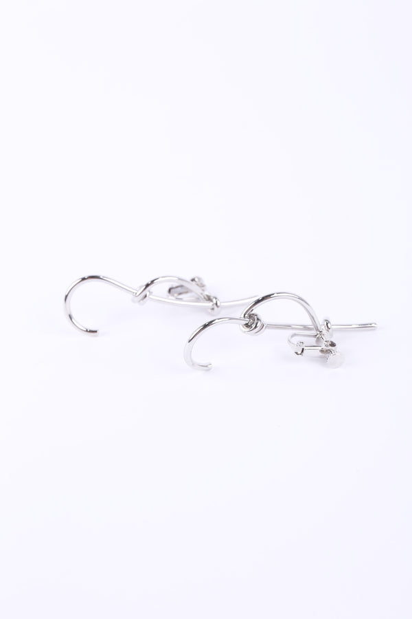 MURRAL small torsion ear accessory (silver)