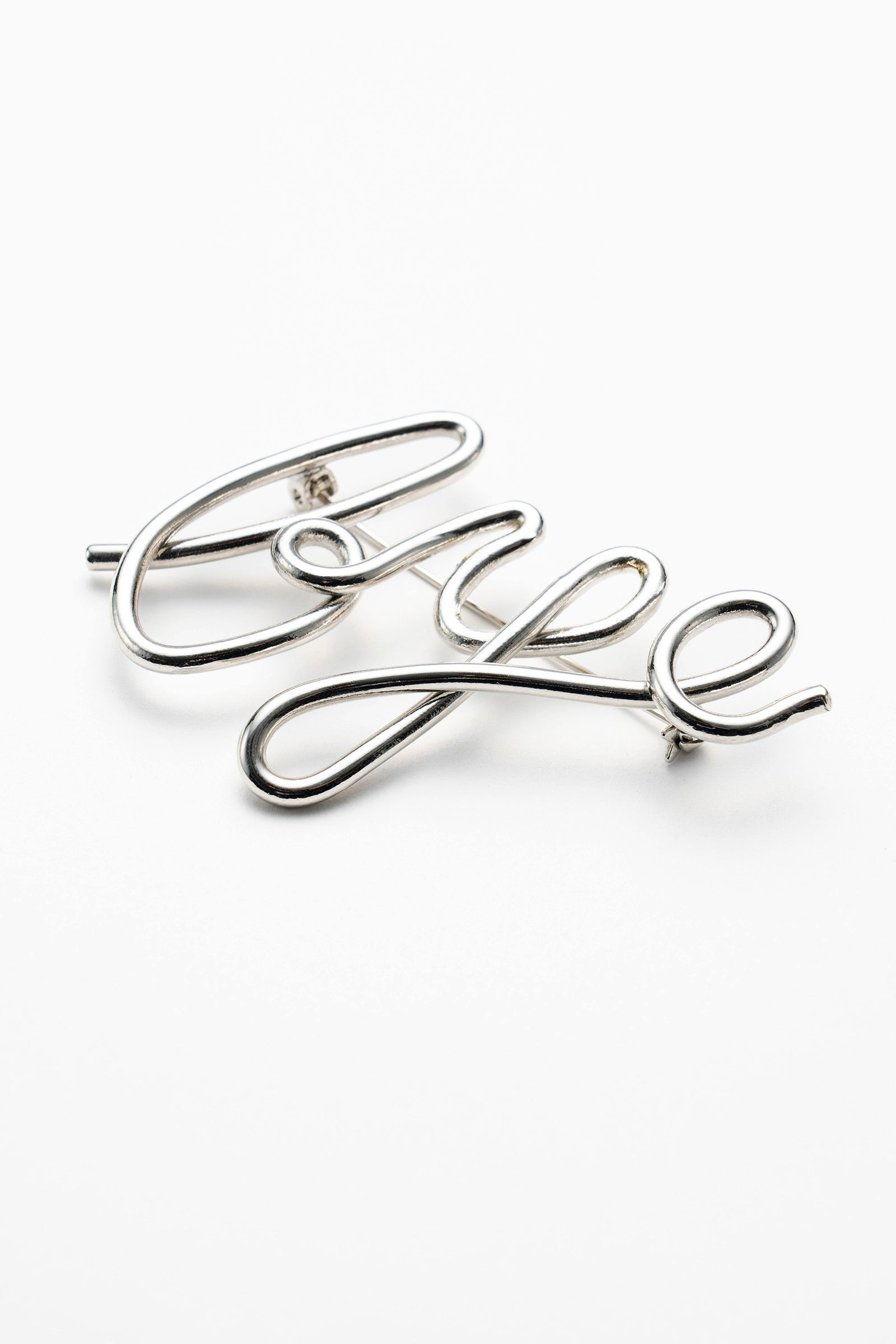 MURRAL bye brooch (silver)