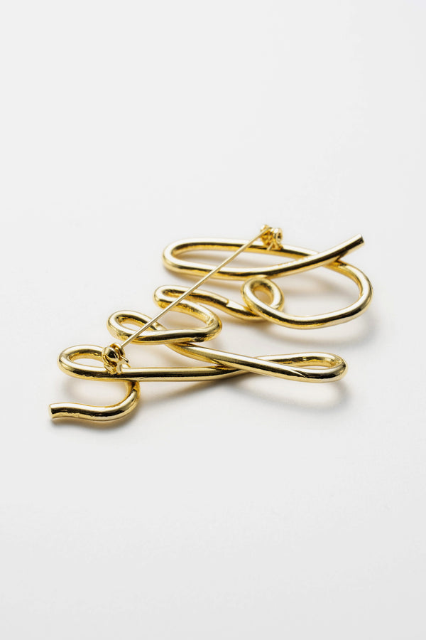 MURRAL bye brooch (gold)