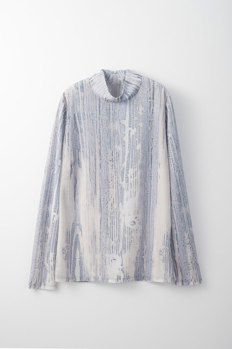 Sheer baum top (Gray)