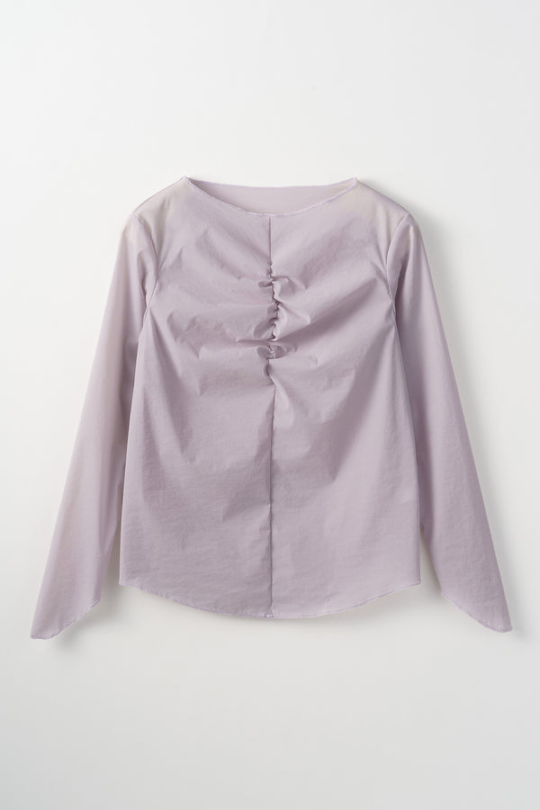 MURRAL Stretch sheer top (Lavender)