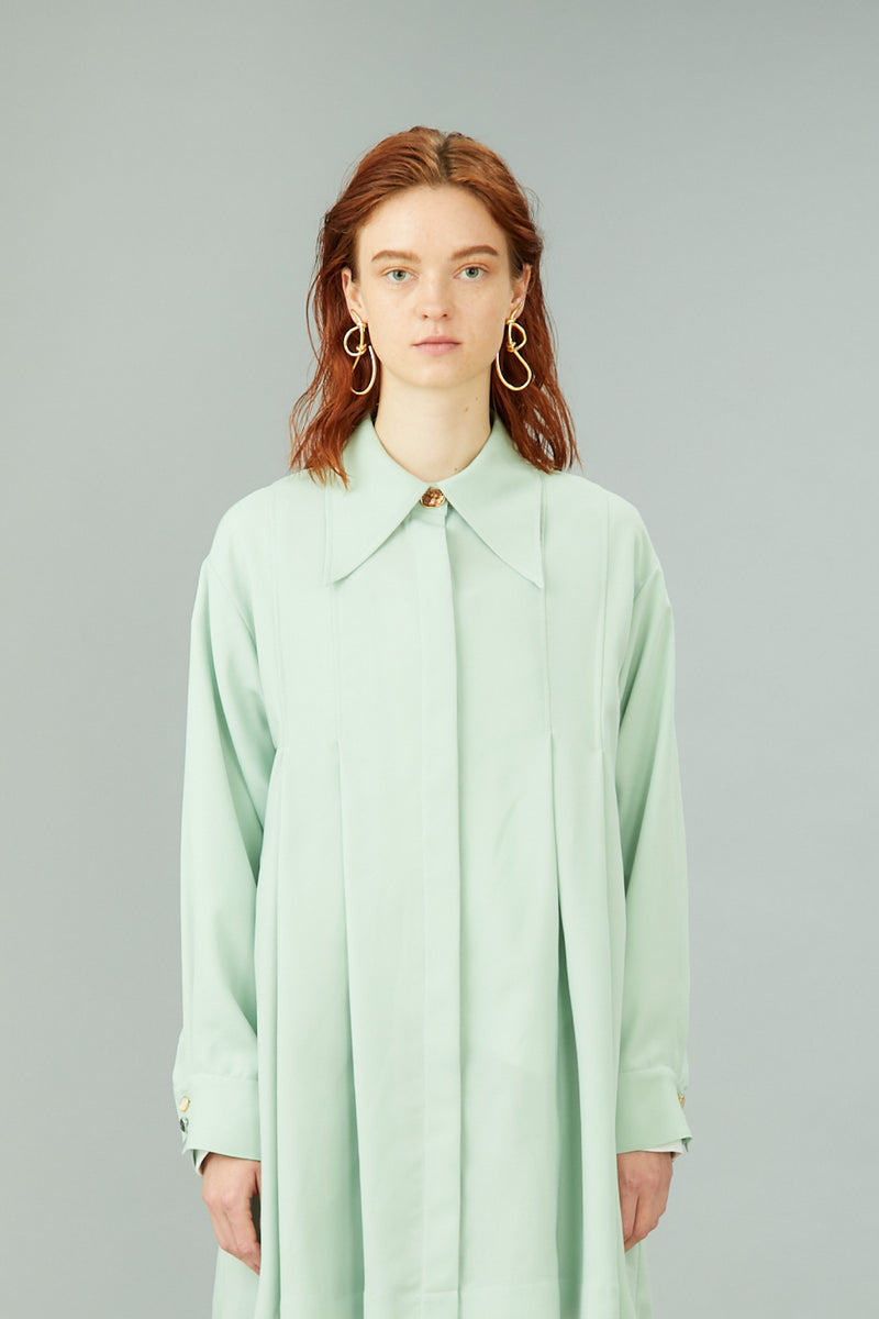 tack & flare shirts (light green)