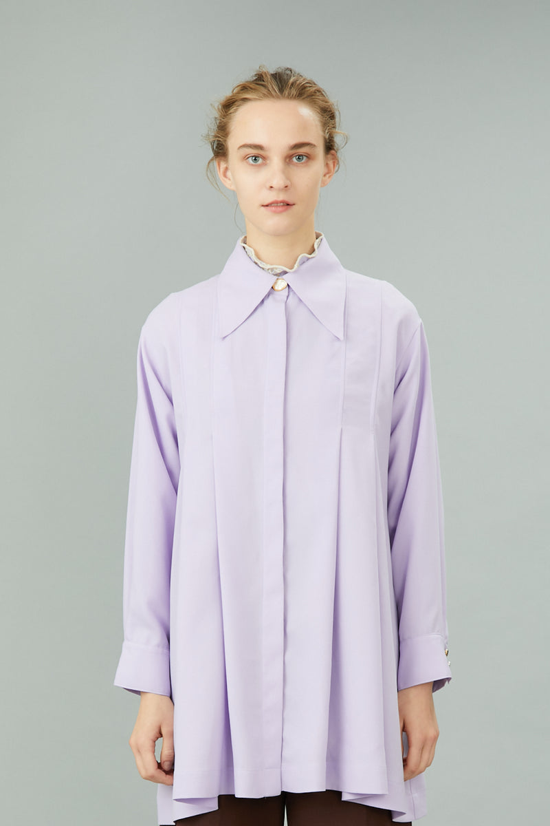 tack & flare shirts (purple)