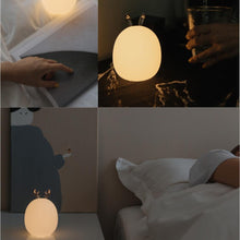 Load image into Gallery viewer, Dimmable LED Night Light Silicone Animal Cartoon Lamp