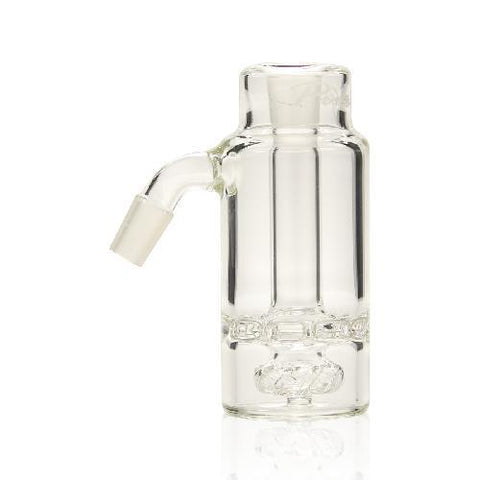 buy wholesale Smoke Shop and Coffee shop supplies in Europe Pure Glass Ashcatcher Ratchet Showerhead w/ Inverted Joint