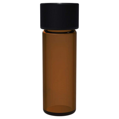 Amber Glass Vial 45 1 Dram - 144 Units