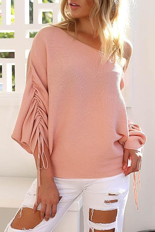 New Casual Off-the-shoulder Sweater