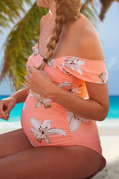 Open Lily Maternity One Piece Swimwear