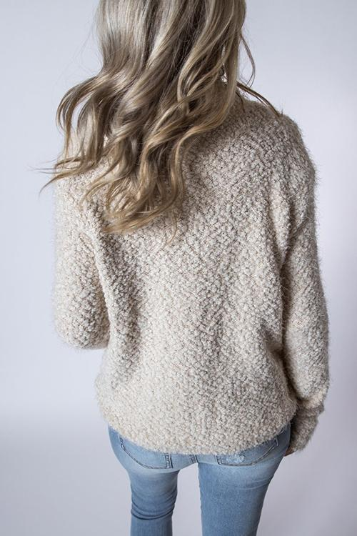 Casual Plush Wild Sweater