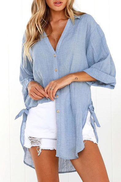 Button Long Sleeves Shirts