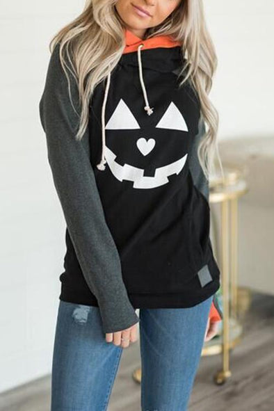 Fashion Halloween Pumpkin Hoodie