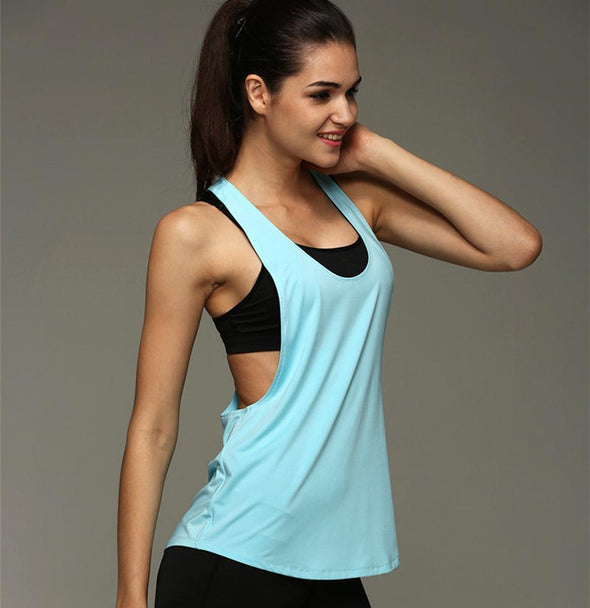 Fitness tank - Basic loose - quick dry - 6 colors